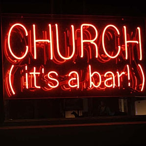 churc it's a bar