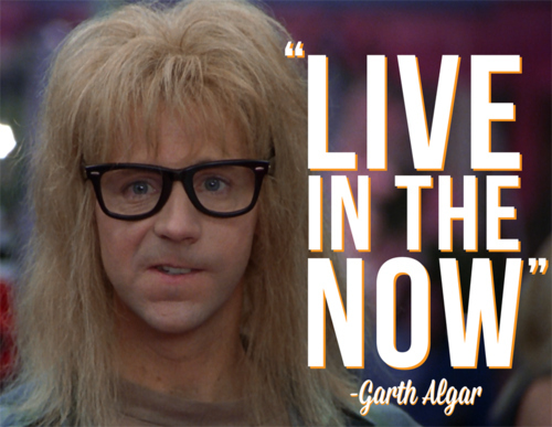 Garth Live in the Now