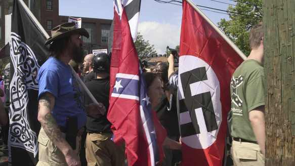 White Supremacist rally in Charlottesville