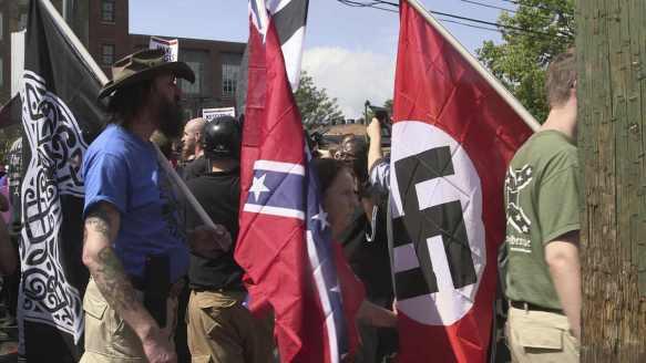White Supremacist rally in Charlottesville