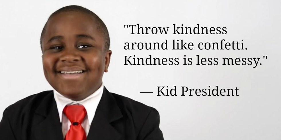 kid President kindness
